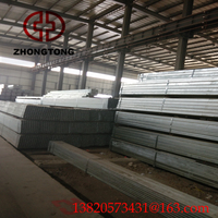 Galvanized Steel Rectangular Pipe/types of mild steel pipe Q235A