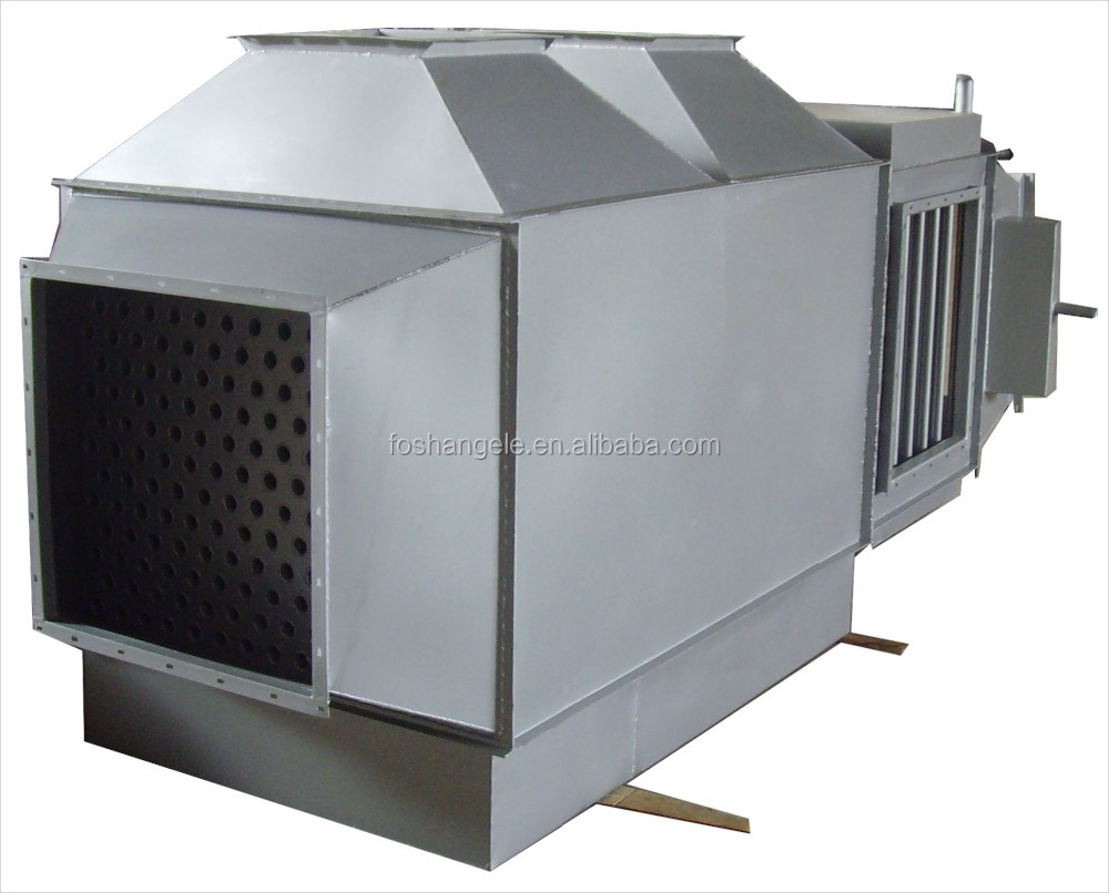 Water To Air Recuperator & Evaporator Condenser & Coils Heat Exchanger For HVAC Industry
