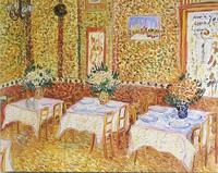 Living room pictures by Van Gogh famous painting