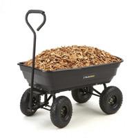 Heavy Duty 4 Wheel Garden Dump