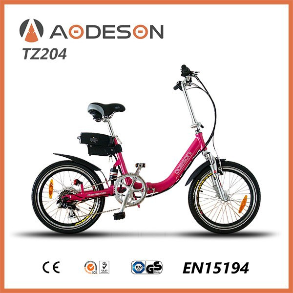 step through electric bicycle/folding electric bike TZ204