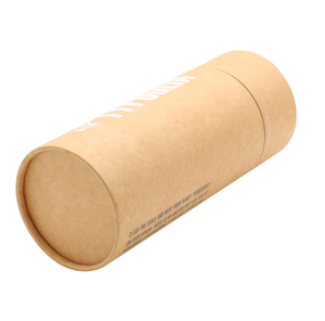 high quality printing new design brown cardboard tube crafts