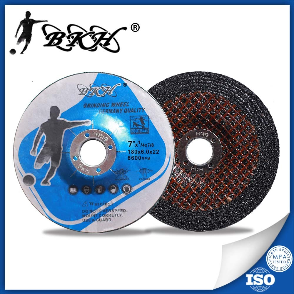 7 inch Grinding Wheel For Cast Iron 80m/s