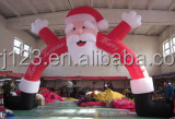 Best-selling inflatable santa claus arch for christmas decoration