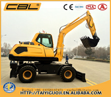 CBL-80 hyundai excavator wheel excavator for sale