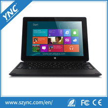 13inch tablet pc + notebook with 13.3 inch lcd with windows10 quad core 2GB/32Gb