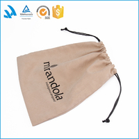 Custom Logo Bag Soft Material Velvet Pouch For Jewelry