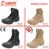 Black Beige Army Combat Boots Military