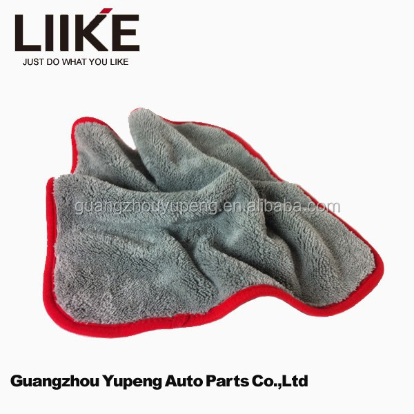 Grey Color Car Care Products Drying Towel Microfiber Towel