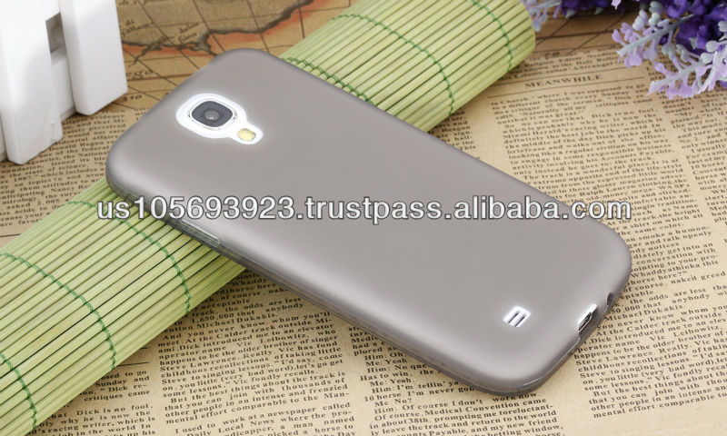 Factory Price For Sumsung Galaxy S4 Soft TUP Case 10 Colors