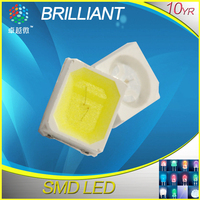 High intensity bicolor 3528 smd led red green
