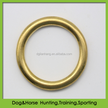 Solid Brass O ring for horse saddlery