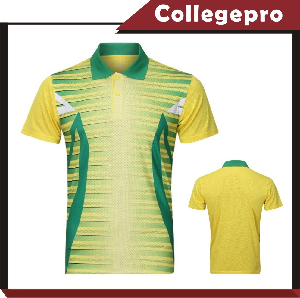 Routine training polo shirt and sports wear no brand