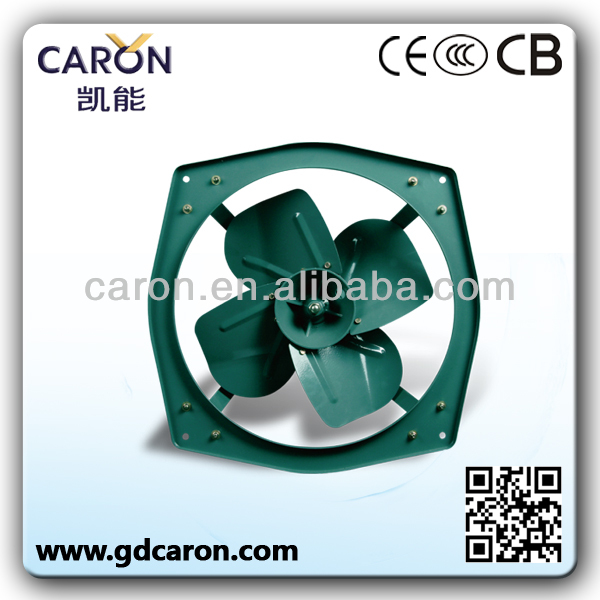 strong power octagonal industrial smoke extractor fan