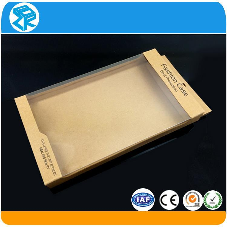 Promotion clear plastic cell phone case retail blister packaging