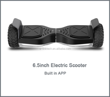 6.5inch mini two wheels Electric self balancing UL Scooter Hoverboard built in bluetooth, mobile App, best choice ,safe for kids