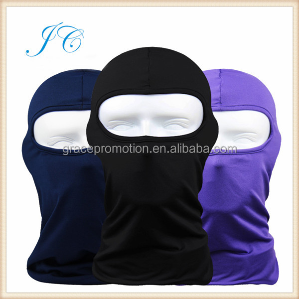 2015 Outdoor Sports Ski Cycling Weatherization Windproof Fleece Mask With Face Shield
