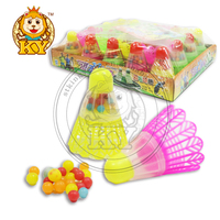 Promotional Cheap Children Badminton Toy With Tablet Candy