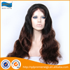 Wholesale OEM custom indian 20inch front lace synthetic wig