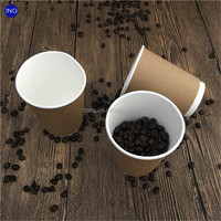 2016 Hot sales disposable plastic coffee cup promotion cup