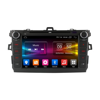 double din Android6.0 car dvd player with built-in gps for toyota corolla 2 din built-in 4G LTE wifi 2GB RAM 32GB ROM buy online