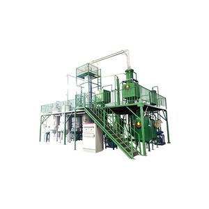 Newly black tyre crude oil recycling machine