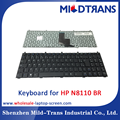 Original new notebook keyboard laptop keboard for HP N8110 BR language layout
