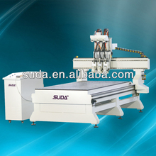 ANHUI SUDA ON SELL CNC ROUTER 2D/3D WOODEN WOKEING MDF PVC ARYLIC CNC HOT CE