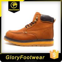 Steel Toe Safety Boots/Goodyear Welt Safety Shoes with CE Certification