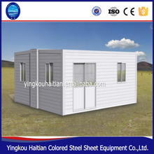Mobile home cabin eps friendly kit prefab cheap expandable living container house modular building
