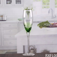 Frosted champagne glass customized size unique design