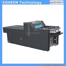 42 uv spot coating machine, digital uv coating machine, desktop spot uv coating machine
