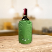 Chinese mainland conscience suppliers plastic ice bag for wine