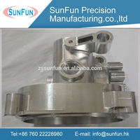 China manufacture cnc machining custom brass motorcycle parts