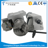 80mm CNC 4th Axis K11-80 CNC dividing head/ Three Claw Chuck/4 axis Rotation axis/engraver woodworking engraving machine
