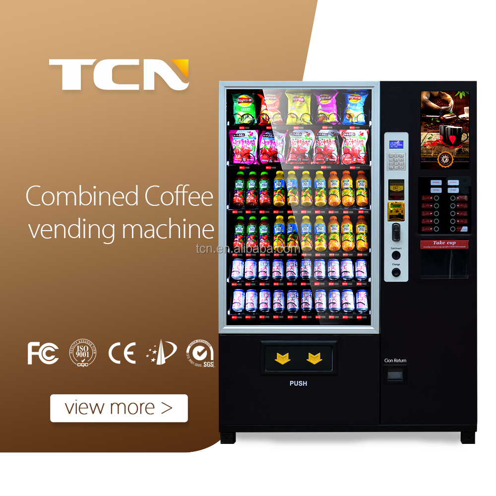 Coffee/snack/combined vending machine with banknote