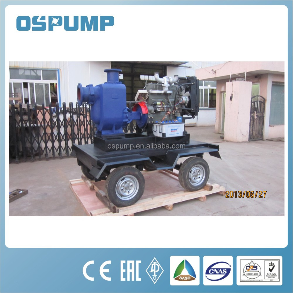OCEAN brand Mobile Trolley Mounted Self Priming Pump