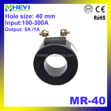 electrical transformer without foot and plastic cover MR-40 50/60Hz current 100-300A Ring type current transformer