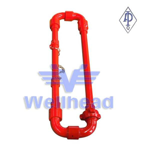 High Pressure Hose Loops/oil and gas pipe fitting/alloy steel pipe/still pipes and fittings