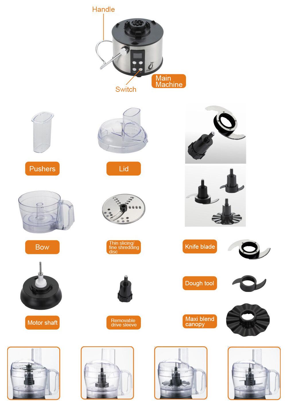 black and decker food processor fp1800b manual