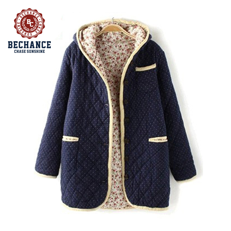 Winter Quilted Coat for Girls PQ217