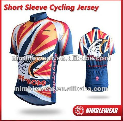 2012 New Style Unique Fully Sublimated Short Sleeve Cycling Jerseys