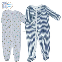 New Style Cotton Baby Rompers Girl Boy Baby Pajamas