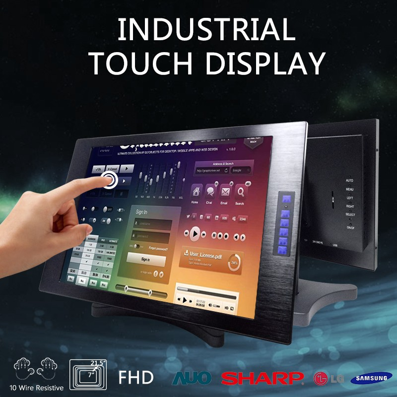 touchscreens lcd display monitor with wifi raspberry pi 19''