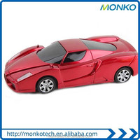 High Quality Hot Selling Mobile Racing Car Shape Power Bank For Cellphone Charging For Gift Item
