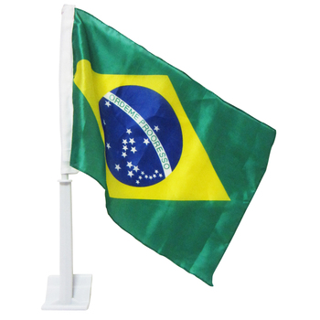 2018 world cup brazil car flag ,custom print world cup car flags
