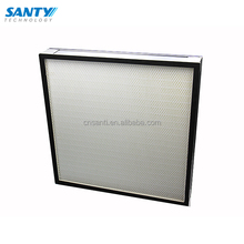 Aluminum frame without separator high efficiency filter hepa filter air filter