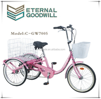 European hot Sales Adult Tricycle Model GW7005-1S