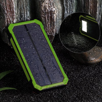 Cell phone mobile USB charger solar power bank