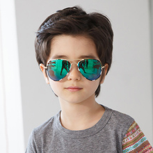 SHINELOT Cool Kids Fashion Custom Logo Camouflage Color <strong>Plastic</strong> Child <strong>Sunglasses</strong>